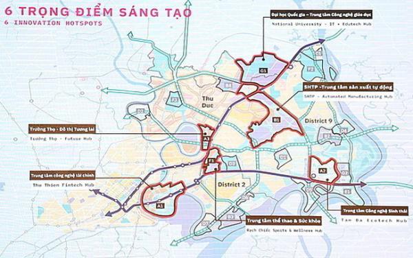 Đề xuất quy hoạch lại 3 khu vực ở phía Đông Tp.HCM như thế nào?