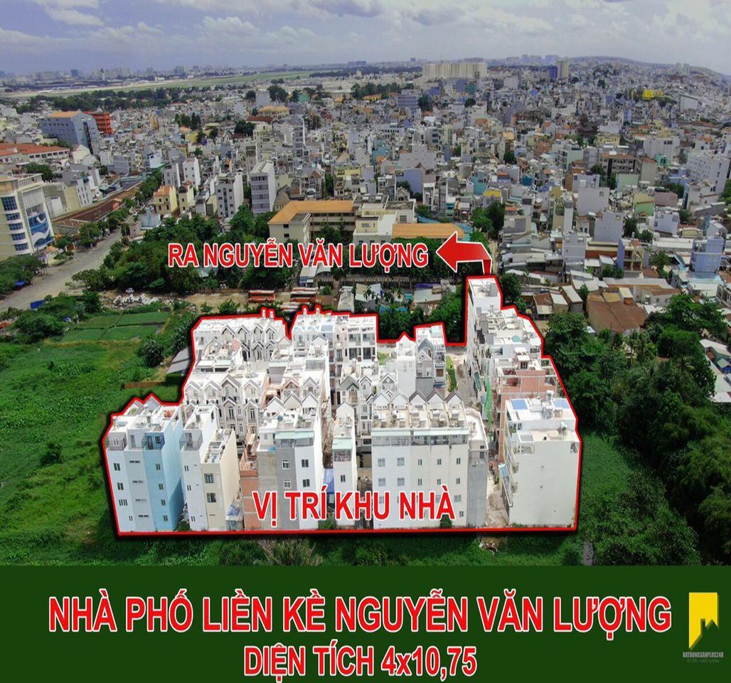 Vạn Xuân cần bán 3 căn nhà phố cao cấp giá rẻ nhất khu vực Gò Vấp.